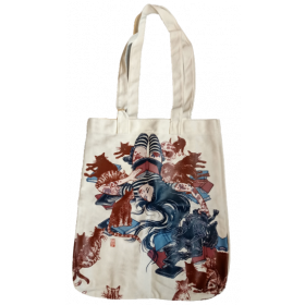 Fully Booked Artist Tote Bag: Cat Lady
