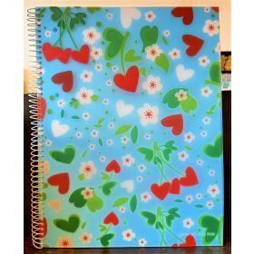 Miquelrius: A4 Spiral Notebook (Agatha Ruiz, Margaritas)