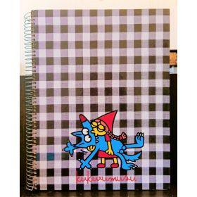 Miquelrius: A4 Spiral Notebook (Kukuxumusu, Besukao)