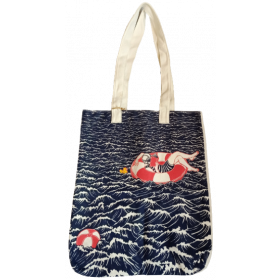 Fully Booked Artist Tote Bag (Wave)