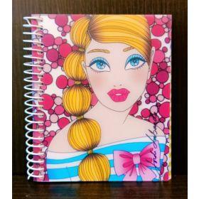 Miquelrius: A7 Spiral Notebook (Jordi Labanda, Candy)