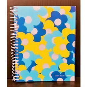Miquelrius: A6 Spiral Notebook (Agatha Ruiz, Margaritas)