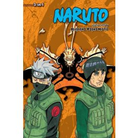 Naruto 3-in-1 Edition, Vol. 21: Includes Vols. 61, 62 & 63 (Paperback)