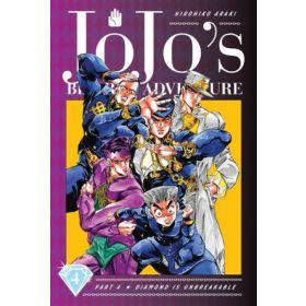 JoJo's Bizarre Adventure: Part—Diamond Is Unbreakable, Vol. 4 (Hardcover)
