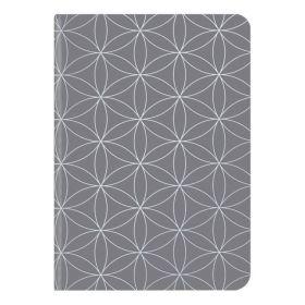 Te Neues: Midi Flexi GlamLine Grey & Silver Journal