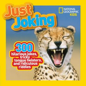 Just Joking: 300 Hilarious Jokes, Tricky Tongue Twisters, and Ridiculous Riddles (Paperback)