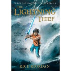 The Lightning Thief: Percy Jackson and the Olympians, The Graphic Novel (Hardcover)