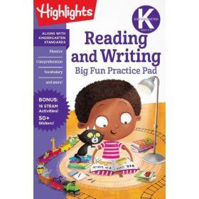 Kindergarten Reading and Writing Big Fun Practice Pad (Paperback)