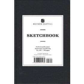 Watson-Guptill: Medium Sketchbook (Kivar, Black)