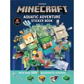 Minecraft Aquatic Adventure Sticker Book (Paperback)