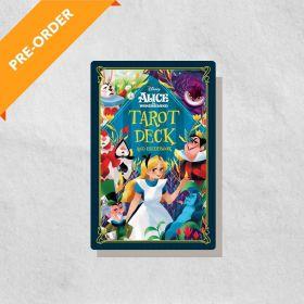 Alice in Wonderland Tarot Deck and Guidebook, Disney (Hardcover)