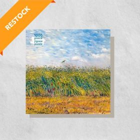 Vincent Van Gogh, Wheat Field with a Lark: 1000-Piece (Jigsaw Puzzle)