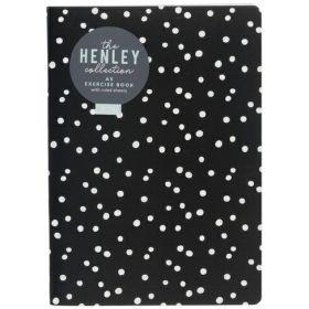 WHSmith: Henley Monochrome Dot A5 Exercise Book