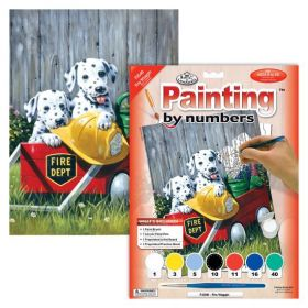 Royal & Langnickel: Painting by Numbers Junior Small (Fire Waggin)