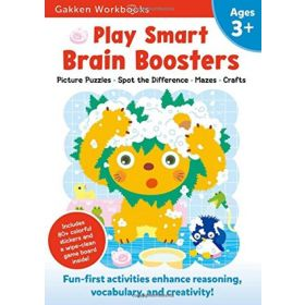 Play Smart Brain Boosters: At-home Activity Workbook, Age 3+ (Paperback)