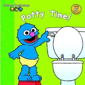 Potty Time!: Sesame Beginnings, Level 5 (Board Book)