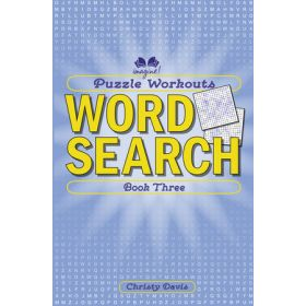 Puzzle Workouts: Word Search, Book 3 (Paperback)