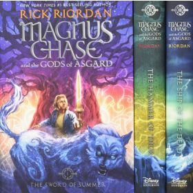 Magnus Chase and the Gods of Asgard Boxed Set (Hardcover)