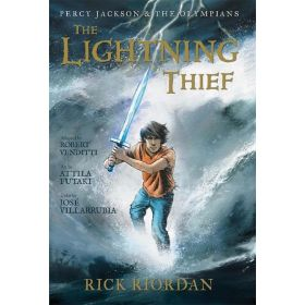 The Lightning Thief: Percy Jackson and the Olympians, Book 1, The Graphic Novel (Hardcover)