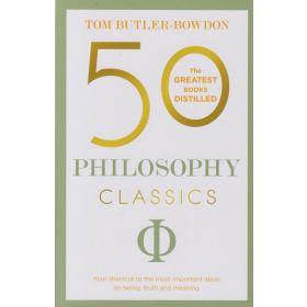 50 Philosophy Classics (Paperback)