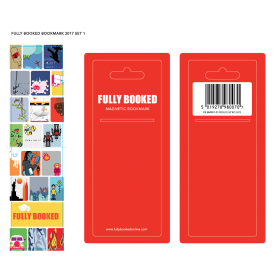 Fully Booked Magnetic Bookmark (BMM01)