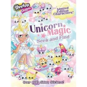 Shopkins: Shoppies: Shoppies Unicorn Magic Seek and Find (Paperback)