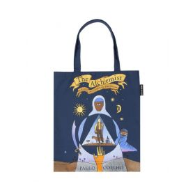 Out of Print: The Alchemist Tote Bag (Blue)