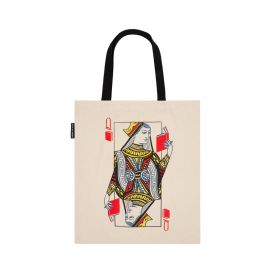 Out of Print: Queen of Books Tote Bag