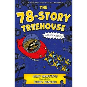 The 78-Story Treehouse: Moo-vie Madness!, The Treehouse Book 6 (Paperback)