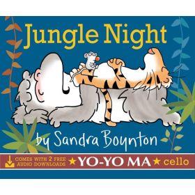 Jungle Night: comes with 2 free audio downloads, Yo-Yo Ma, cello (Board Book)