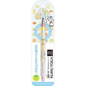 San-X: Kurutoga Mechanical Pencil 0.5mm, Sumikko Gurashi (White)
