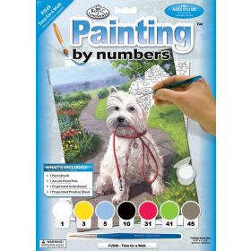 Royal & Langnickel: Paint by Numbers (Time For A Walk)
