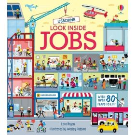Look Inside Jobs (Board Book)