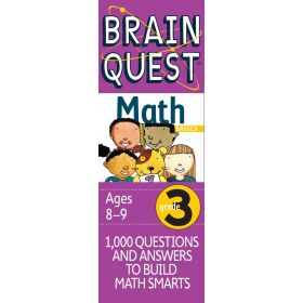 Brain Quest: Grade 3 Math (Cards)
