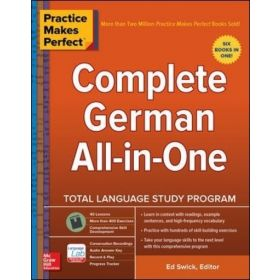 Complete German All-in-One: Practice Makes Perfect (Paperback)