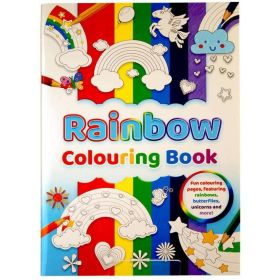 Rainbow Colouring Book (Paperback)
