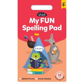 Junior Explorers: My Fun Spelling Pad (Paperback)