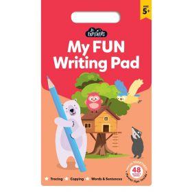 Junior Explorers: My Fun Writing Pad (Paperback)