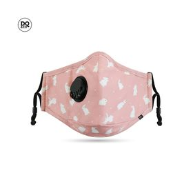 DQCO Anti-Pollution Face Mask Black Bunny Love