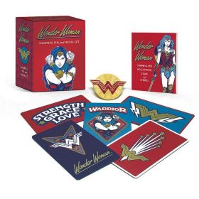 Wonder Woman: Magnets, Pin, and Book Set (Paperback)