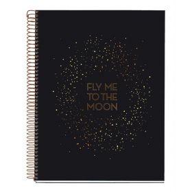 Miquelrius: Galaxy A4 Notebook (Golden Black)