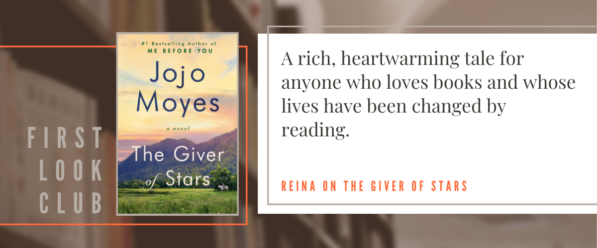 First Look Club: Reina reviews The Giver of Stars