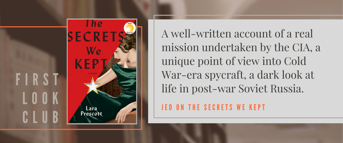 First Look Club: Jed reviews The Secrets We Kept