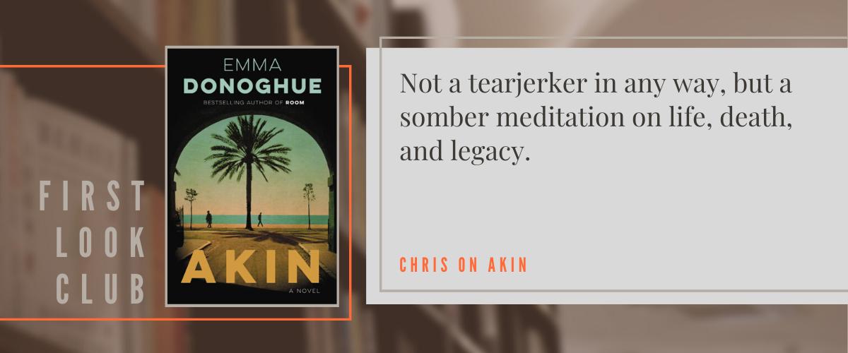 First Look Club: Chris reviews Akin