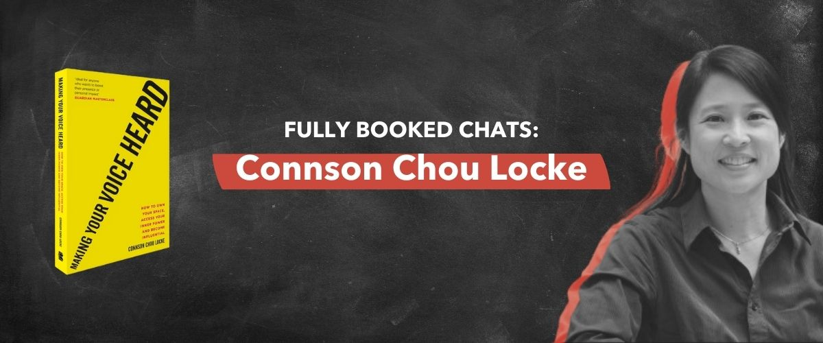 Fully Booked Chats: Connson Chou Locke