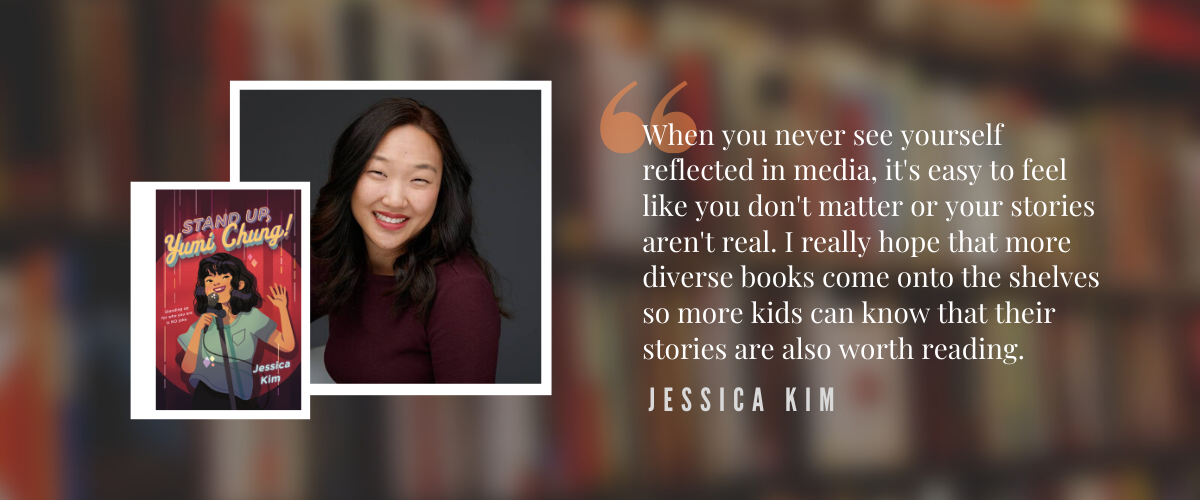 Author Spotlight: Jessica Kim