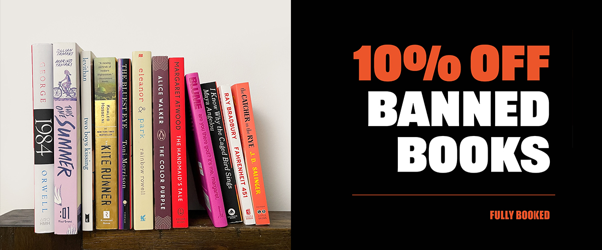 Celebrate Banned Books Week 2021 with Fully Booked