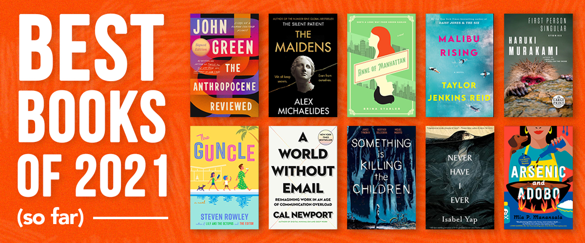 Best Books of 2021 (So Far)