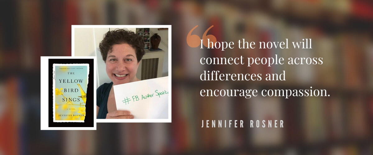 Author Spotlight: Jennifer Rosner
