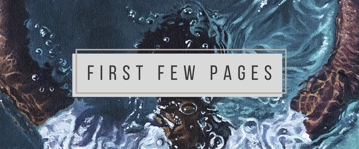 First Few Pages: The Water Dancer